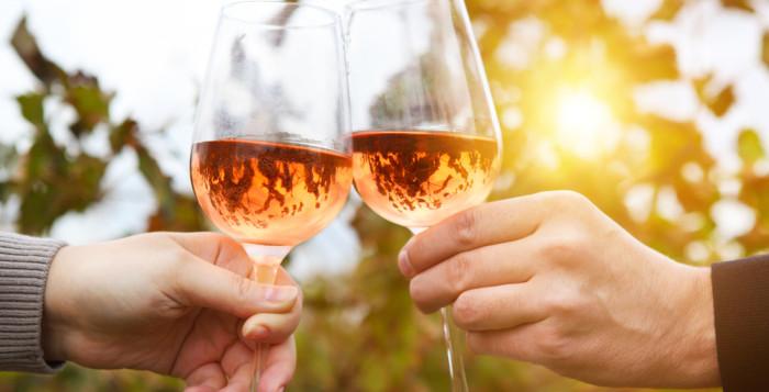 Een heerlijk Swift wijntje in de zon…