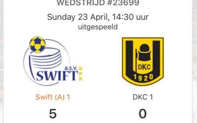 Swift 1 verliest in Hoorn maar doet toch goede zaken