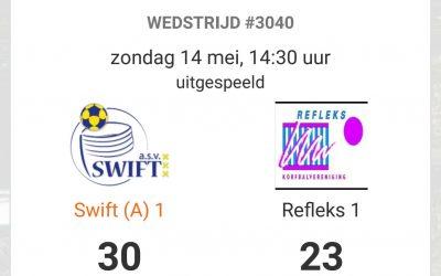 Swift 1 speelt zich veilig tegen koploper