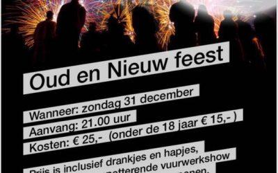 Kaartverkoop Oud & Nieuw start zaterdag