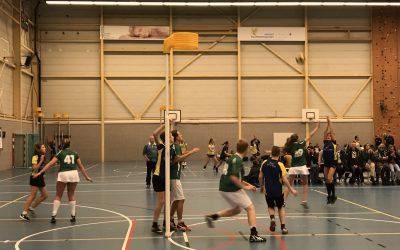 Junioren actief op de Haarlemse Korfbalweek