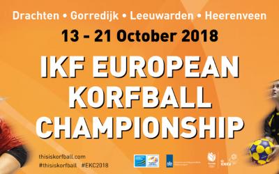 Tickets voor EK Korfbal