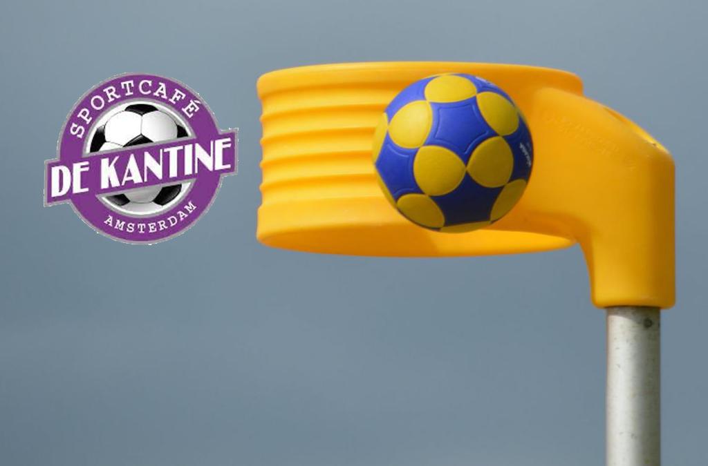 De balsponsor voor de wedstrijd Swift 1-Velocitas 1 is Sportcafé de Kantine